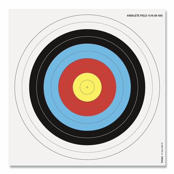 Zielauflage 25cm für Feldarmbrust