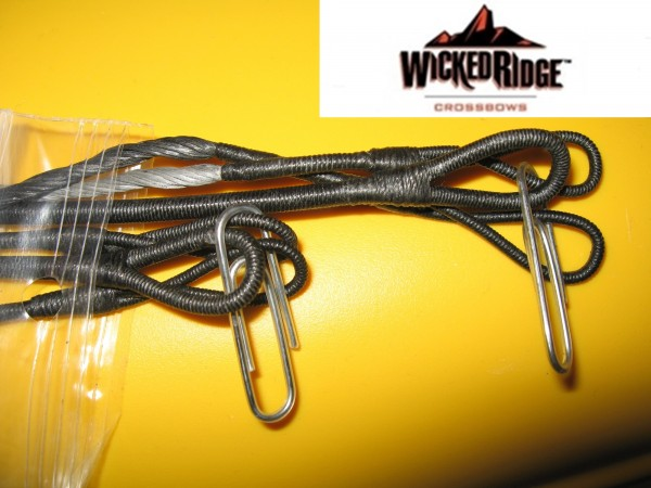 Wicked Ridge Sehnen und Kabel